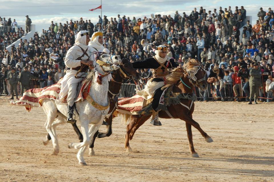 Tunisie Courses Hippiques à Douz