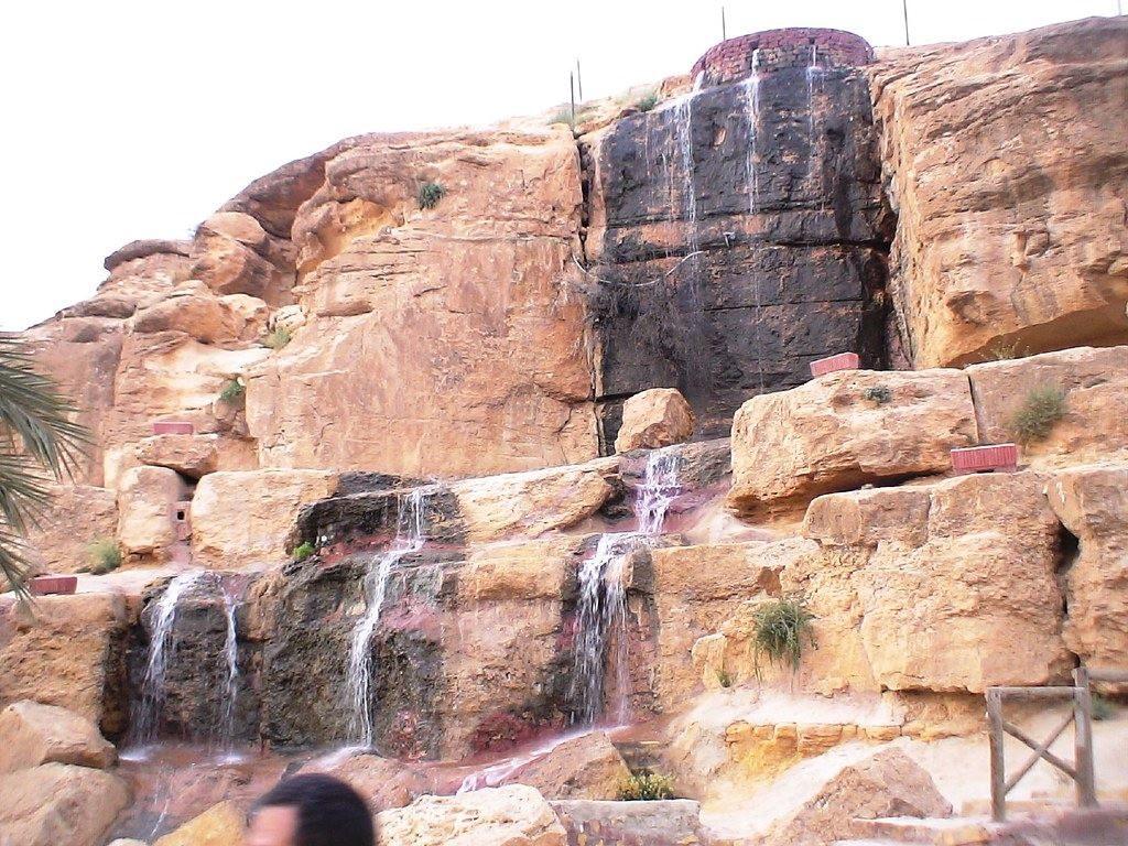 Chute d'eau à Tamerza